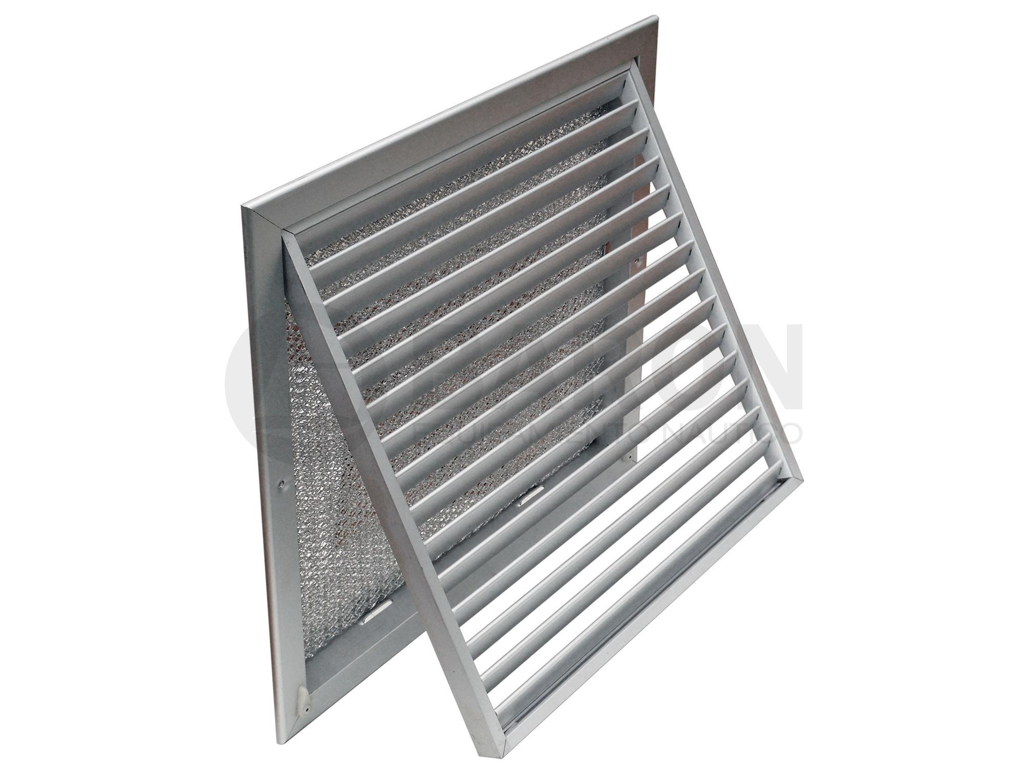 Aire acondicionado rejillas rejilla retorno aire 12x12 for Rejillas aire acondicionado regulables