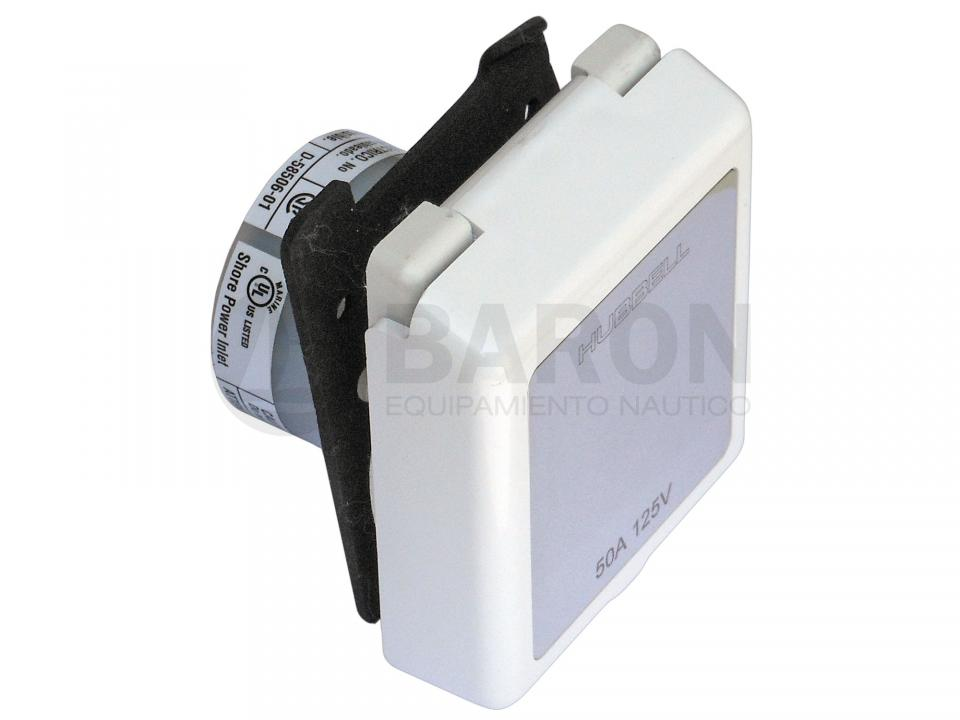 Enchufe y cable (220V) Hubell