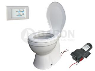 Inodoros y bidets inodoro silencioso quiet flush el ctrico for Bomba inodoro