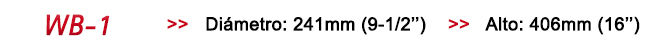 Bolso estanco amarillo - Diámetro 24cms / Largo 40cms