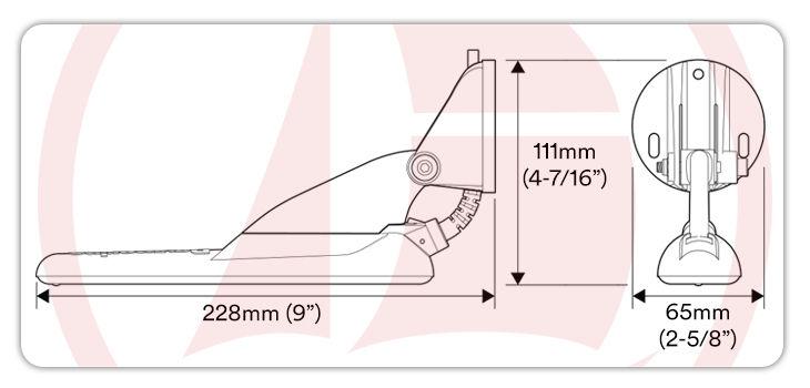 Sensor plástico para Dragonfly DV y 4DV