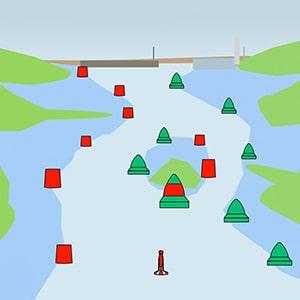 Sistema de boyado marítimo IALA