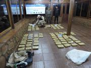 Prefectura Naval Argentina - Bote narco en Misiones: Prefectura secuestró más de 100 kilos de marihuana