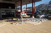 Prefectura Naval Argentina - Secuestramos mercaderías por más de 98 mil pesos en Pilcomayo