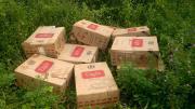 Prefectura Naval Argentina - Contrabando en la frontera: secuestramos un cargamento de cigarrillos ilegales valuado en un millón y medio de pesos