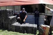 """Prefectura Naval Argentina -  Operativo """"Humo Clandestino"""" en Chaco: detuvimos a cuatro contrabandistas que trasladaban cigarrillos valuados en casi cinco millones de pesos"""