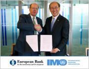 Organización Marítima Internacional (OMI) - La OMI firma un acuerdo de cooperación con el Banco Europeo de Reconstrucción y Desarrollo