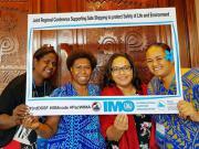 Organización Marítima Internacional (OMI) - Lema del Día marítimo mundial de 2019: Empoderando a la mujer en la comunidad marítima